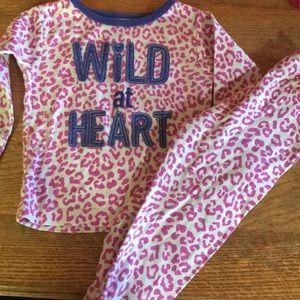 Carters 2 piece pajama set 18 months